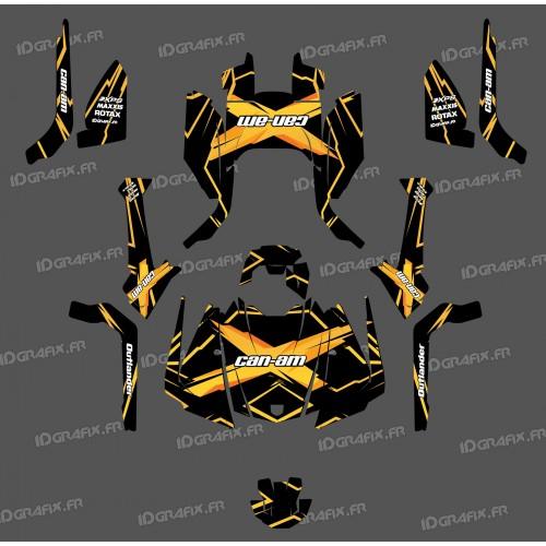Kit dekor Feature Edition (Gelb) - IDgrafix - Can-Am Outlander G2 -idgrafix