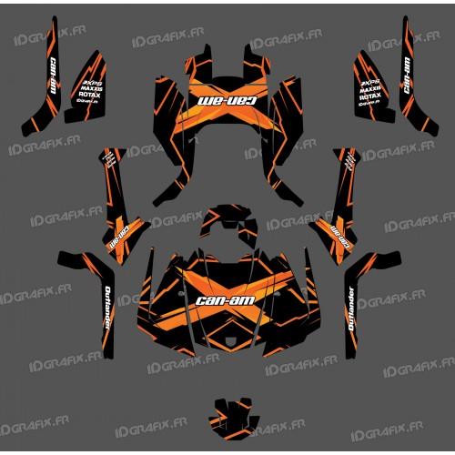 Kit decoration Feature Edition (Orange) - IDgrafix - Can Am Outlander G2