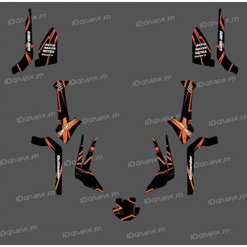 Kit decorazione Caratteristica Edizione di Luce (Arancione)- IDgrafix - Can Am Outlander G2