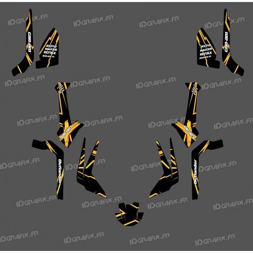 Kit decorazione Caratteristica Edizione di Luce (Giallo)- IDgrafix - Can Am Outlander G2