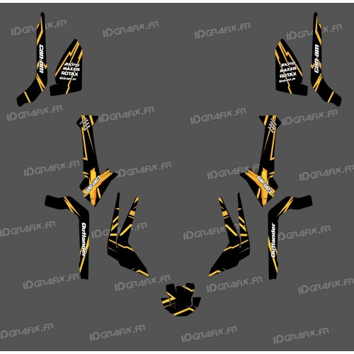 Kit dekor Feature-Edition-Light (Gelb)- IDgrafix - Can-Am Outlander G2 -idgrafix