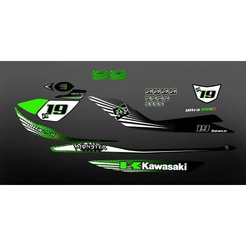 photo du kit décoration - Kit décoration 100% Perso pour Kawasaki Ultra -- M LOPES