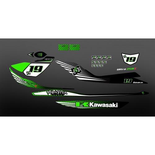 Kit dekor 100% Persönlich für Kawasaki Ultra -- M LOPES -idgrafix