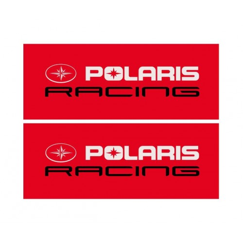 Los 2 Sticker Offroad-Polaris Racing (long 31 x 12cm)  -idgrafix