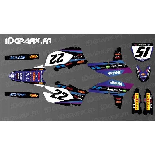 Kit decoration Custom - Yamaha YZF 2011 -- Andreas - IDgrafix