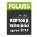 Polaris RZR 900 / RZR 900 S (after 2015)