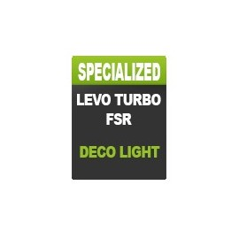Kit déco LIGHT Spécialized Turbo Levo (jusqu'a 2018)