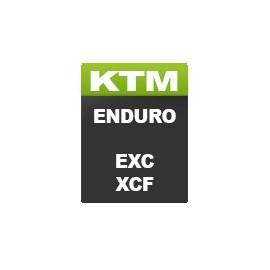 KTM Enduro Motorcycle