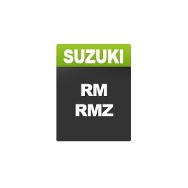 Plaques de Suzuki RM - RMZ