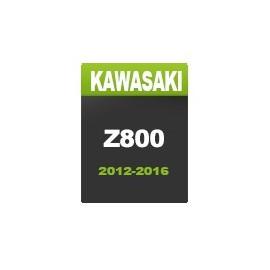 Motorrad-Kawasaki-Straße
