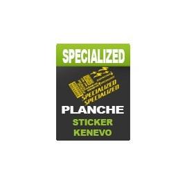 Planche sticker Rockshox Lyrik - Specialized Kenevo