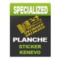 Board sticker Rockshox Lyrik - Specialized Kenevo