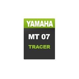 Yamaha MT07 Zeichnen