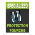 Sticker Protection Fourche (Rockshox - Ohlins - Fox)