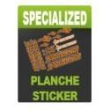 Planche sticker