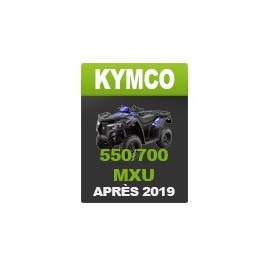 Kymco 550-700 MXU (after 2019)