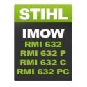 Stihl IMOW RMI-632 / RMI 632P / 632C / 632PC
