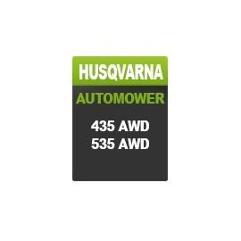 Husqvarna AUTOMOWER - Gamme 435/535 AWD