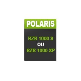 Polaris RZR 1000 S / XP (until 2018)