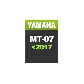 Yamaha MT-07 (hasta 2017)