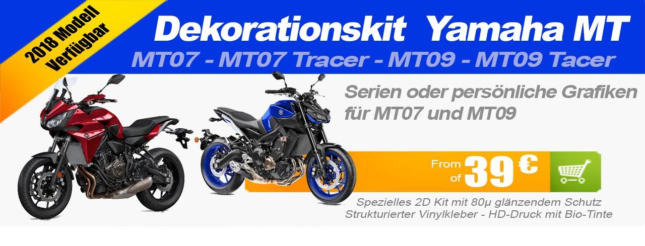 Kit Motorrad Dekoration Straße