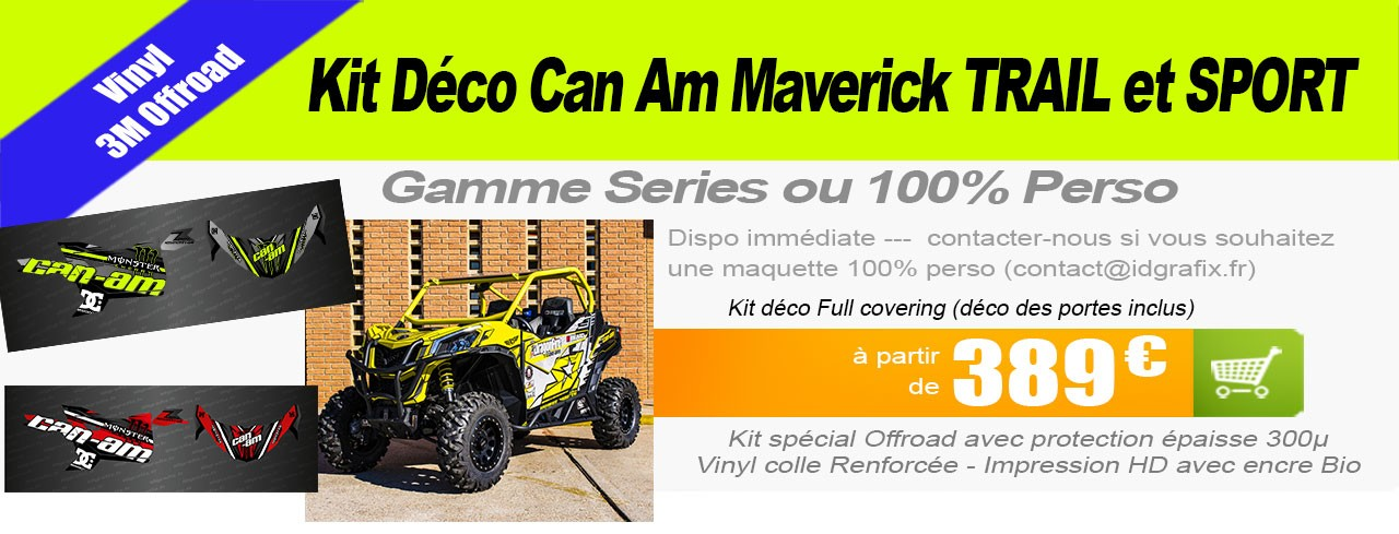 Kit déco Can Am Maverick Trail